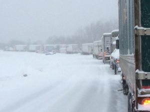 Kentucky i-65 Snow Storm