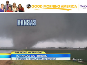 Tornado Outbreak Coverage on ABC Good Morning America News