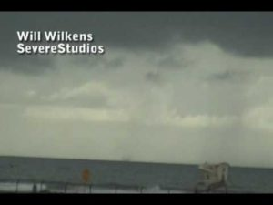 Newport Beach Waterspout 2-27-10