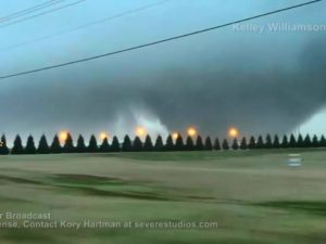 Tornado Near Aliceville, AL Federal Prison 2-2-16