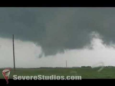 Wall Cloud near Marcus, Iowa