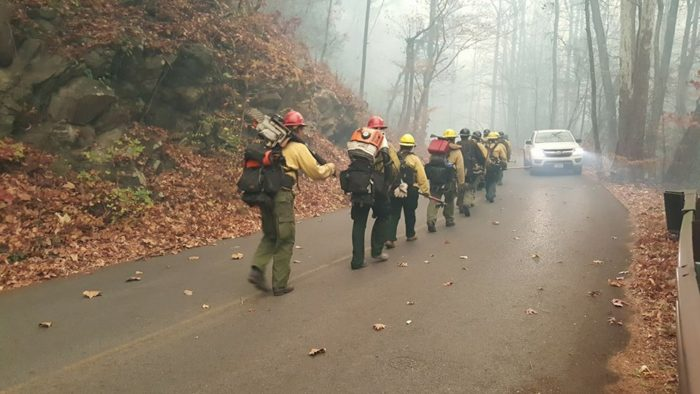 Smoky Mountain Nat'l Park Fire Fighting