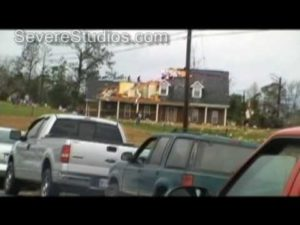 Auburn and Salem Alabama Tornado Damage