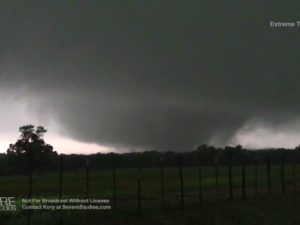 Violent Tornado near Canton, TX 4-29-17