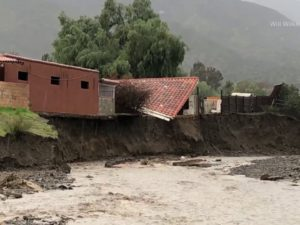 Flood Damage Lake Elsinore CA 2-15-19
