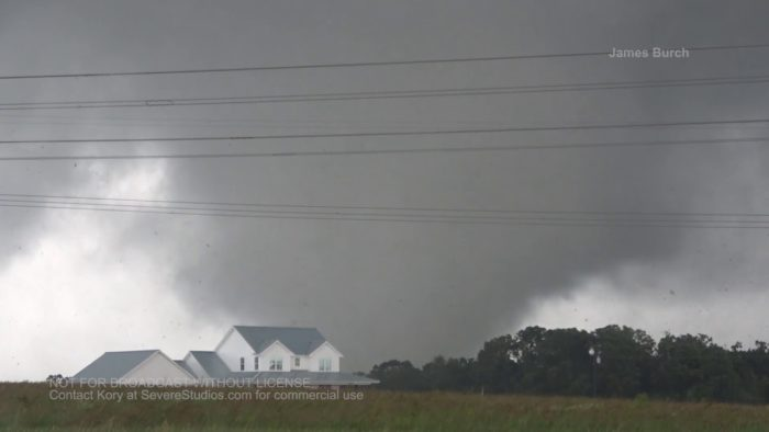 Canton TX Tornado and Damage 5-29-19