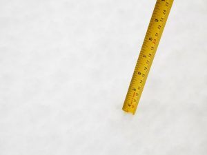 Measure Snow Ruler
